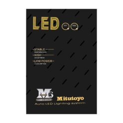 Mitutoyo LED H11-H8-H9 (2 τεμάχια)